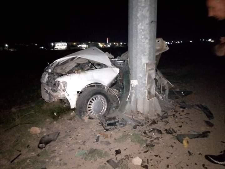 مصرع وإصابة 4 مدنيين بحادث مروع في ديالى
