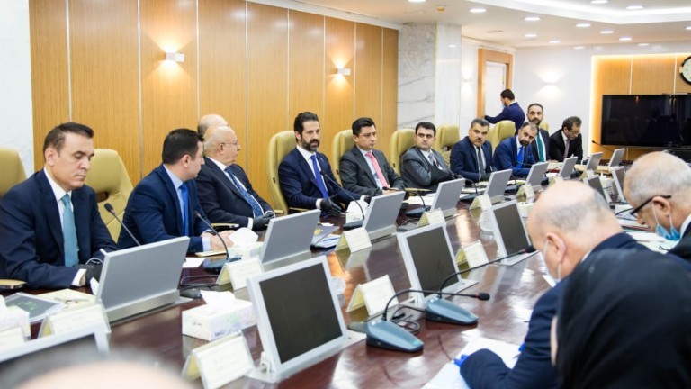 """The Kurdistan Democrat announces reaching a """"preliminary agreement"""" to settle the region's share of the budget 1613736574104"""