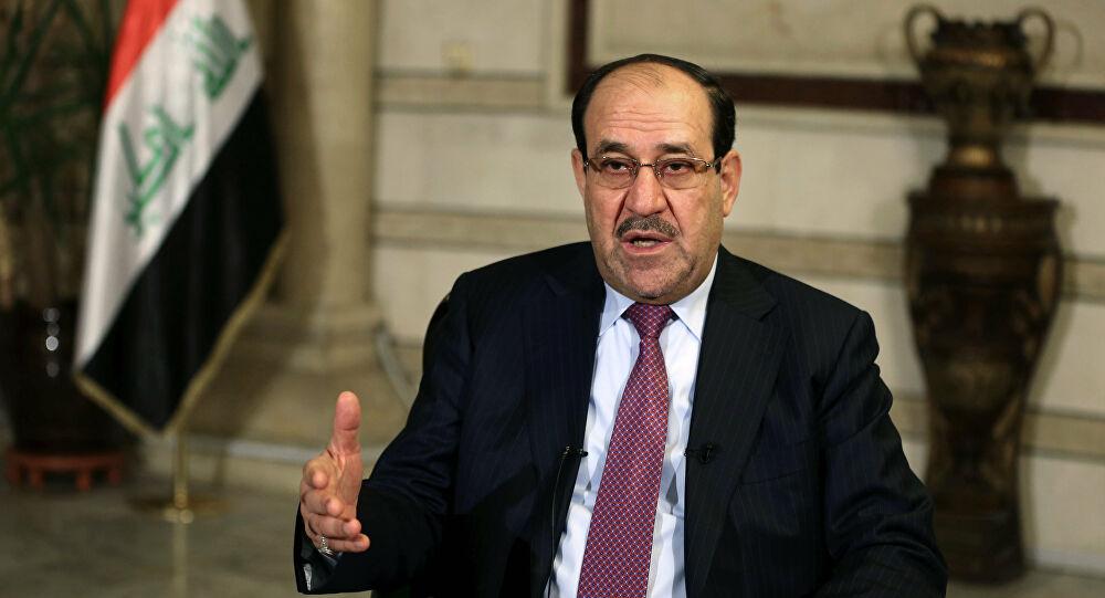 """Al-Maliki on Al-Kadhimi's Anti-Corruption Committee: """"Unconstitutional"""""""