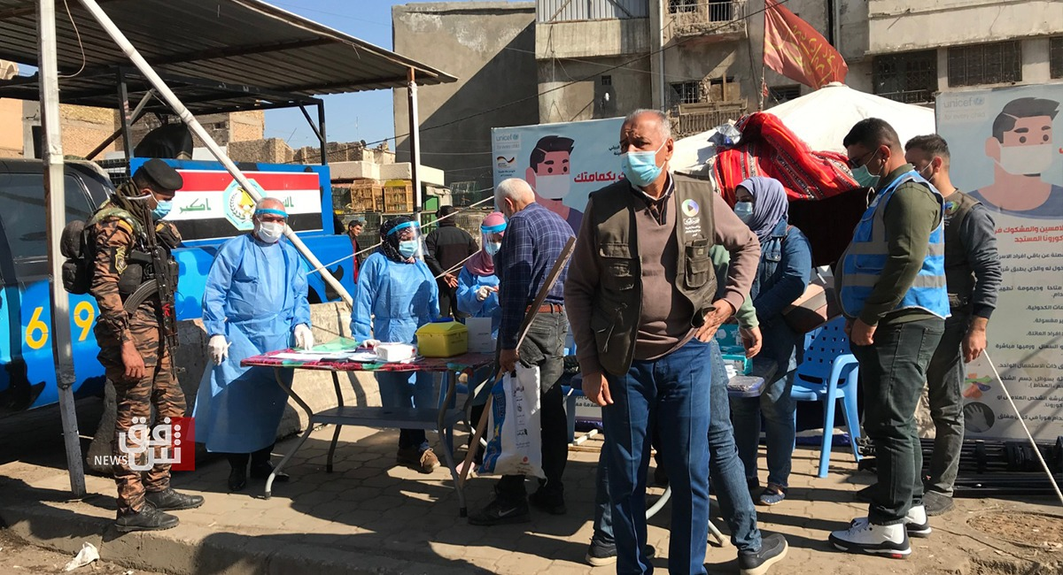 كورونا العراق.. 32 وفاة و5813 إصابة جديدة بكورونا