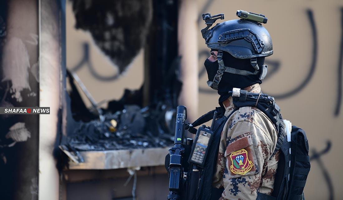 إعتقال 11 سوريا حاولوا التسلل إلى الأراضي العراقية .. صور