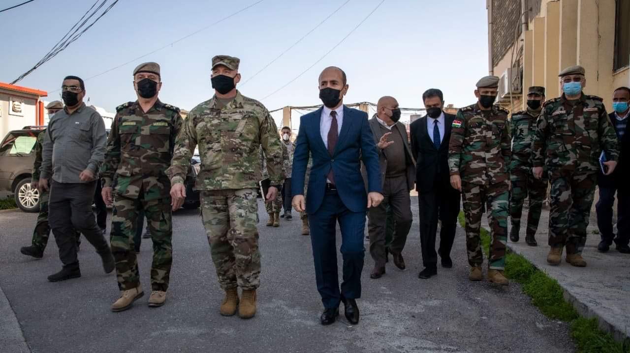 The US-led Coalition to continue providing aids to Peshmerga, Official