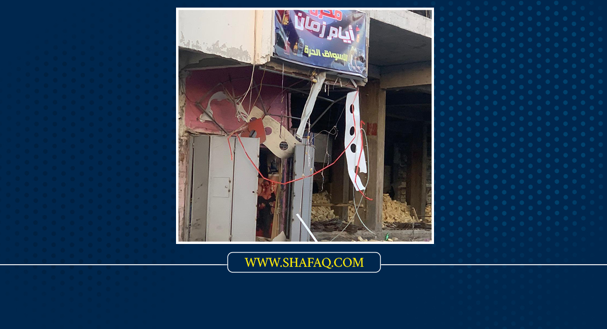 Two liquor stores blasted in Baghdad this morning