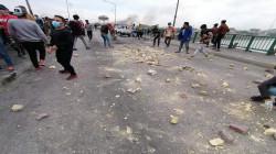 بعد سقوط اكثر من 60 جريحاً من المتظاهرين والأمن.. الغانمي والأعرجي إلى الناصرية