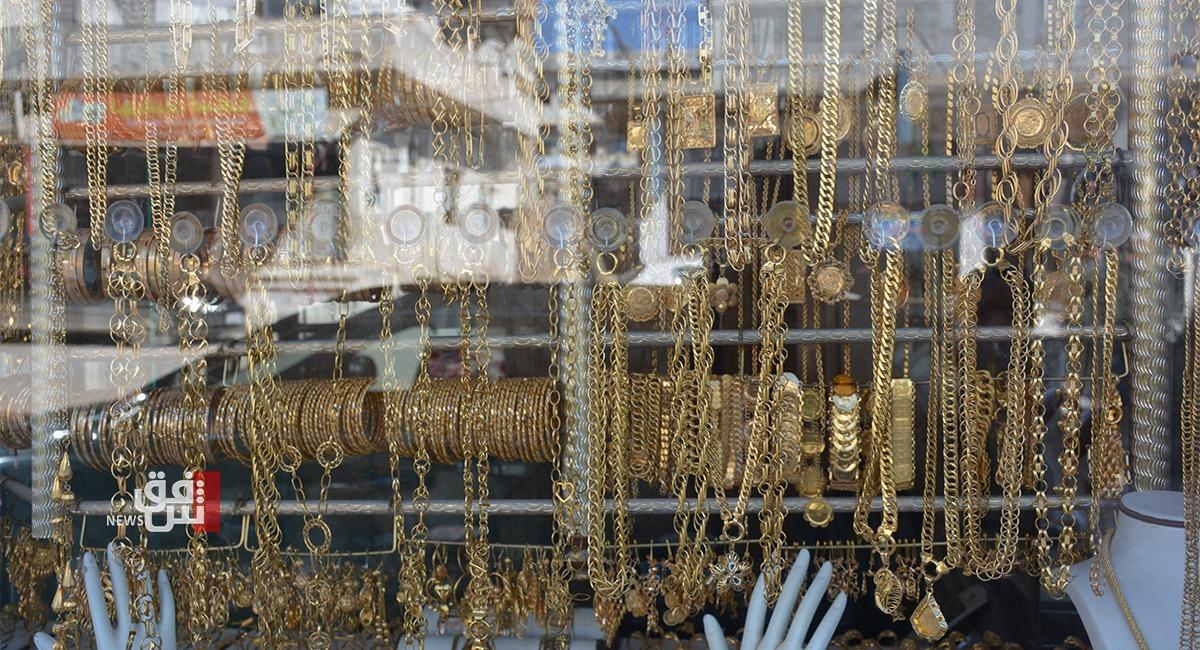 ارتفاع مستمر.. الذهب في العراق يلامس الـ400 الف دينار للمثقال