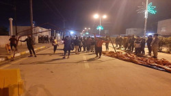 Demonstrators in Dhi Qar's Al-Rifai district demand the Kaimakam dismissal