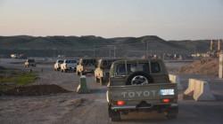 """إنطلاق عملية أمنية """"واسعة"""" لملاحقة داعش شمال شرق ديالى"""