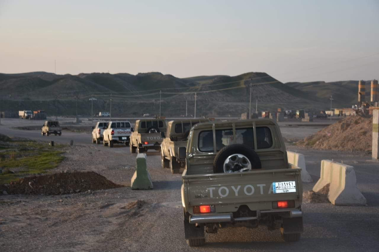 PMF and the Iraqi army starts an operation in the Northeast of Diyala