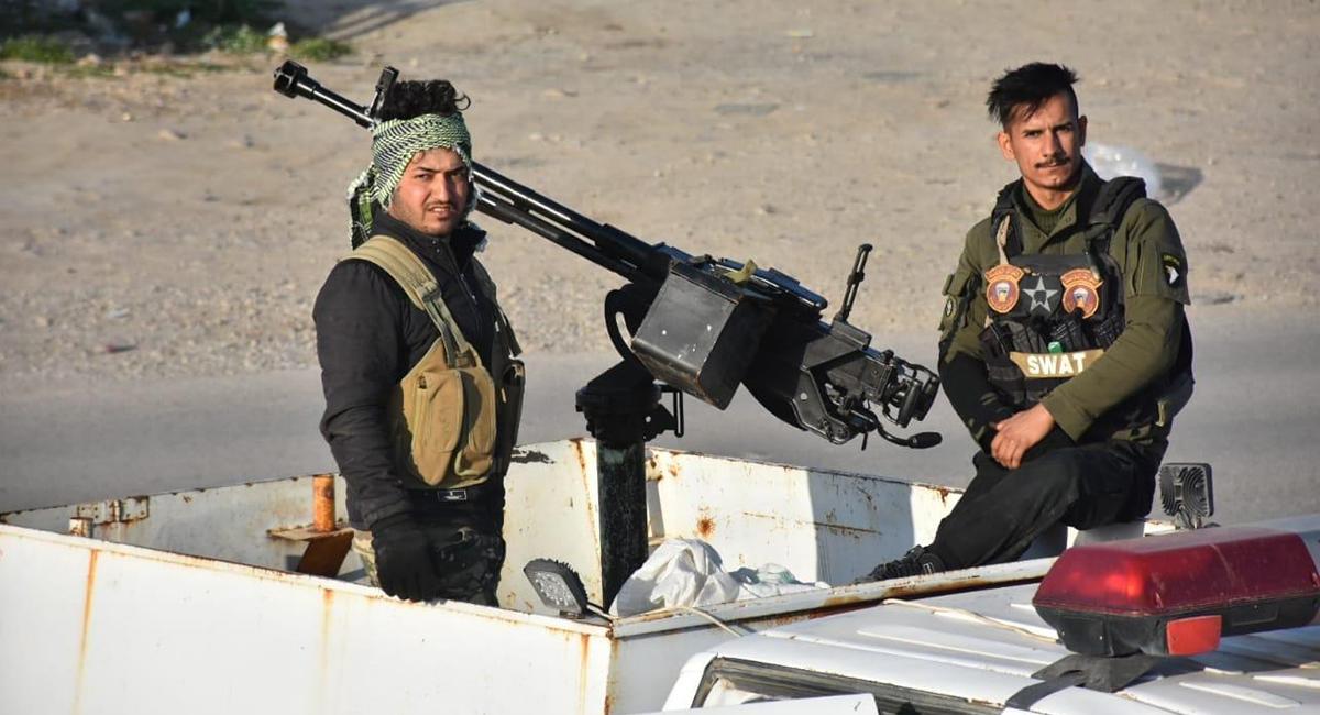 The Feyli Kurds brigade pursues ISIS remnants in Diyala