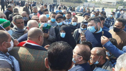 Political Prisons organize a demonstration in Baghdad