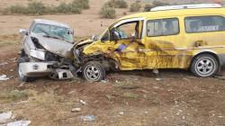 اصابة 3 مدنيين بجروح خطيرة في حادث سير بديالى