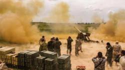 الطيران الحربي ومدفعية الحشد يدمران مواقع لداعش في ديالى