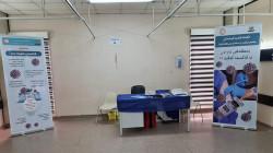 إنطلاق حملة التطعيم ضد كورونا في دهوك