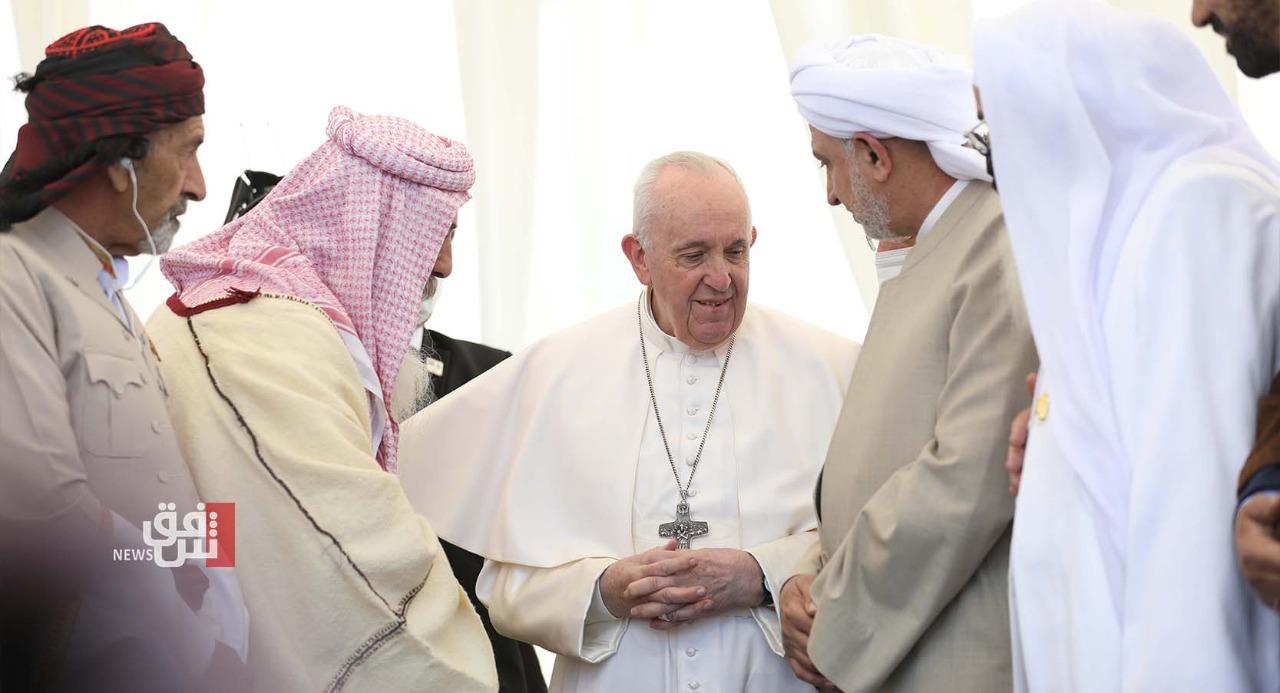 الرئيس الأمريكي يعلّق على زيارة البابا التاريخية للعراق