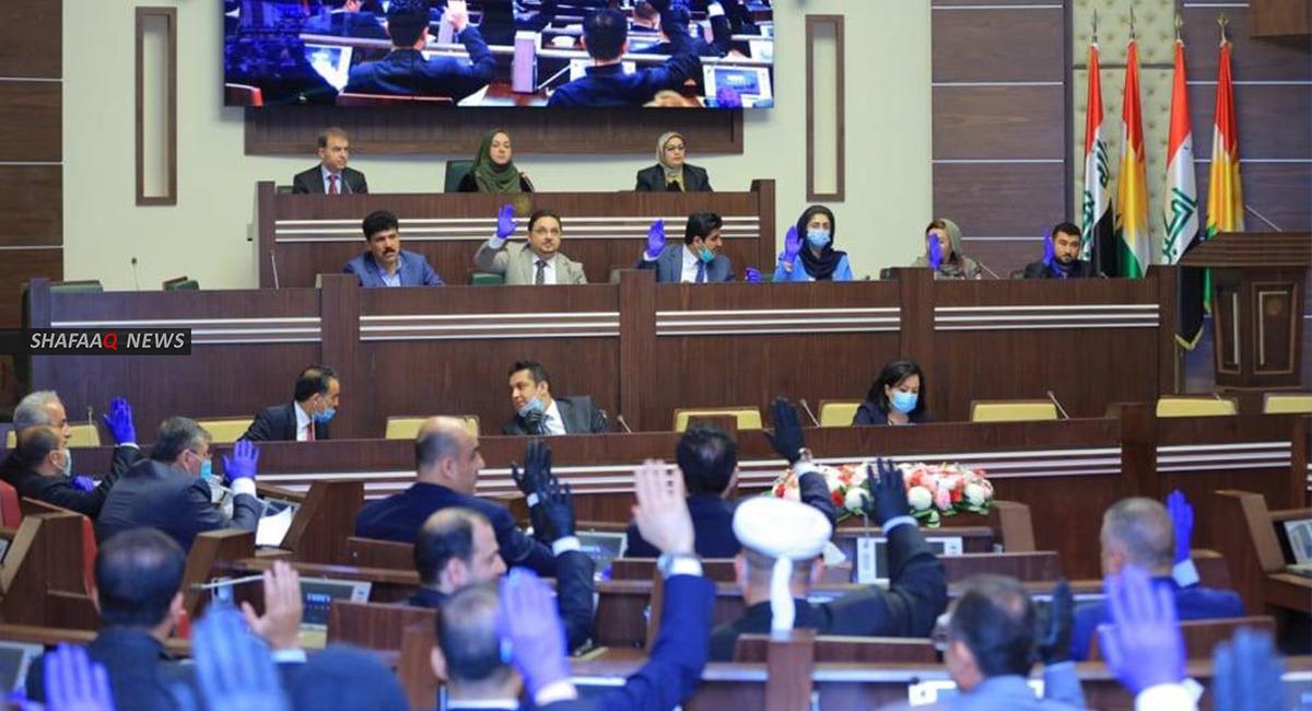 برلمان كوردستان يصوت على تمديد فصله التشريعي