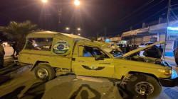 السليمانية.. إصابة 13 معظمهم أفراد أمن وسجناء في حادث مروّع