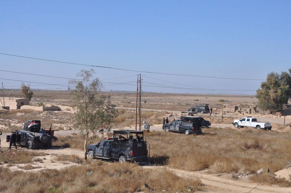 Diyala operations command launches a security operation in Saladin