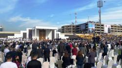 صور.. البابا فرنسيس يقيم قداسا كبيراً بملعب فرانسو حريري في اربيل (تحديث)