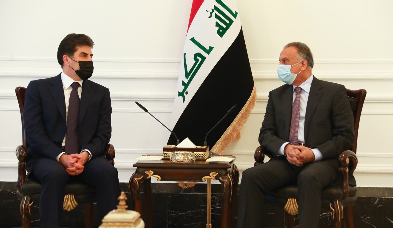 رئيس إقليم كوردستان يعلن موقفه من مبادرة الكاظمي