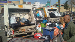 Sanitation workers strike leaves al-Sulaymaniyah littered with piles of rubbish
