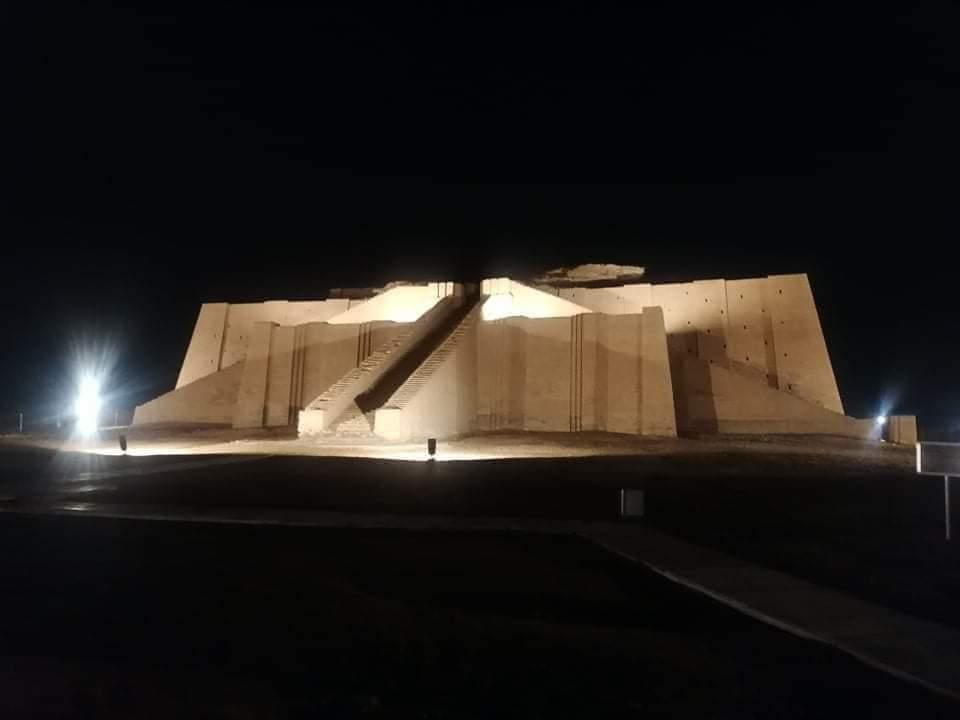 ما حقيقة عودة الظلام لمدينة أور الأثرية بعد إنتهاء زيارة البابا؟ .. ذي قار تجيب