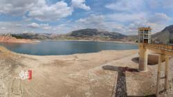 قياسا بالعام الماضي.. انخفاض ملحوظ لمياه سد دهوك