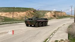 قوات روسية تسيّر على حدود الادارة الذاتية وتركيا