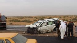 مصرع ثلاثة أشخاص وإصابة آخرين بحادث مروّع جنوبي العراق