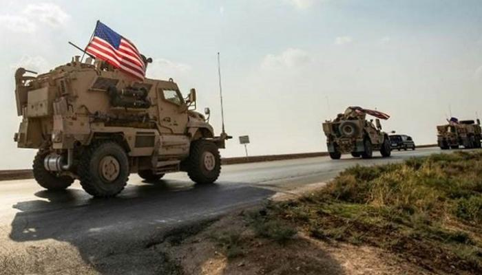An attack targets the US-led coalition in Iraq 1615815825140