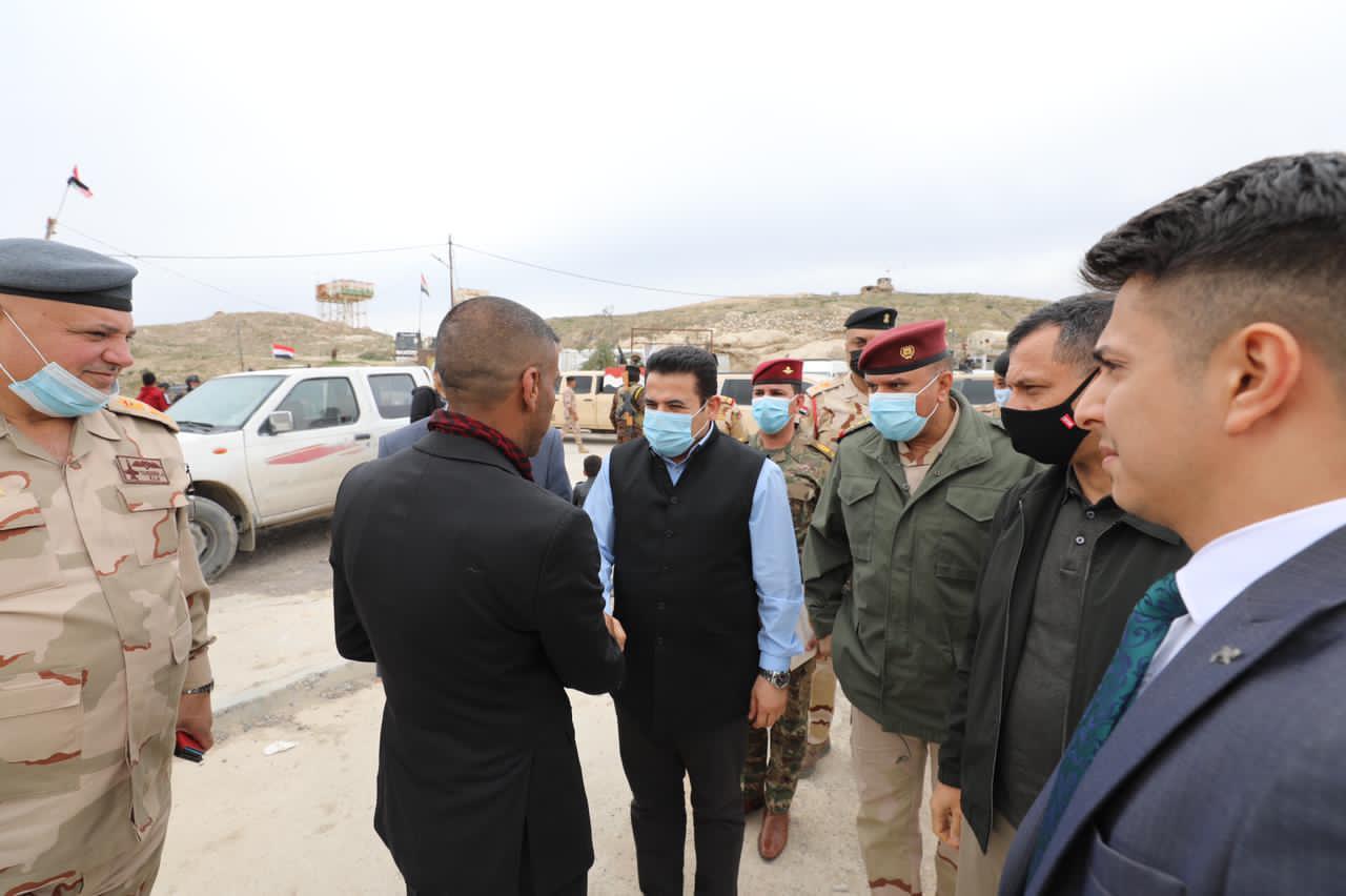 الأعرجي: بغداد ستوفر كل أسباب نجاح تنفيذ اتفاق سنجار