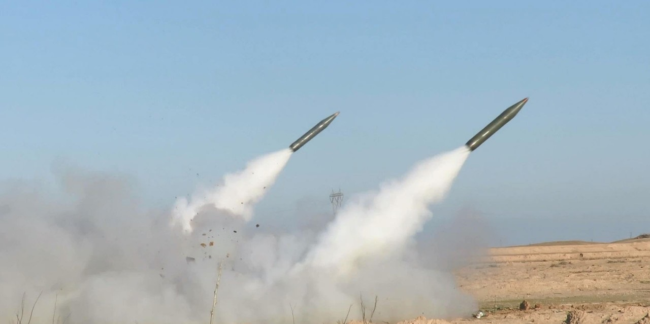 Two rockets fall inside Iraqi air base housing U.S. troops, source