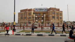 Citizens march the streets of Dhi Qar demanding job opportunities