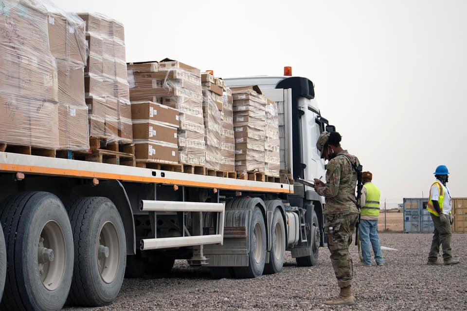 انفجار يستهدف رتلا للتحالف الدولي وسط العراق