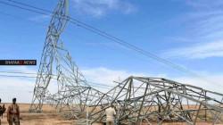 """حادث """"إرهابي"""" يتسبب بزيادة ساعات قطع الطاقة في 3 أقضية بديالى"""