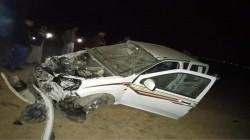 مصرع وإصابة 3 أشخاص بحادث سير في نينوى