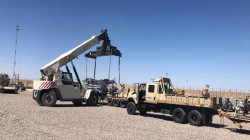 The Global Coalition provides Iraqi security forces with new equipment