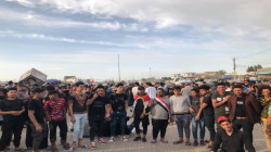 صور.. أهالي قضاء ببغداد يعلنون اعتصاماً مفتوحاً حتى تحقيق 3 مطالب