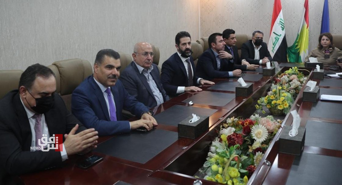 Once again on the budget .. the Kurdish delegation in parliament, a new round of negotiations 1616170367316