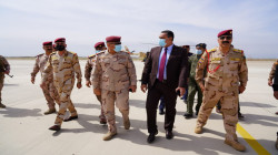 The Deputy Commander of Joint Operations arrives in Kirkuk