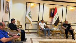 درجال يلتقي الملاك الفني لمنتخب العراق الكروي ويؤكد دعم الحكومة اللامحدود