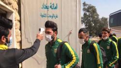 المنتخب العراقي يكمل فحوصات كورونا والحكومة تخصص طائرة خاصة للقاء اوزربكستان