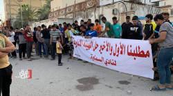 فيديو وصور.. جماهير نادي السماوة تطالب بالحل الهيئة الإدارية