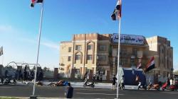 قوة من الجيش تمنع موظفي محافظة ذي قار من دخول المبنى