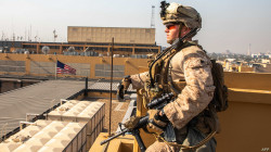 Sirens blared in the U.S. embassy compound in Baghdad