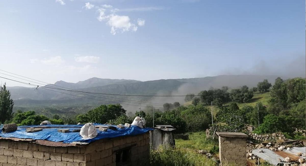 قصف تركي يستهدف قرى في بنجوين السليمانية