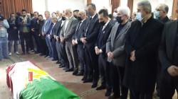 صور.. إقامة صلاة الجنازة على جثمان المؤرخ الكوردي كمال مظهر في السليمانية