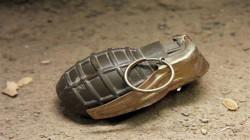 A hand grenade dismantled in Baghdad