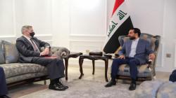 الحلبوسي يبحث مع تولر أهمية الحوار الاستراتيجي بين واشنطن وبغداد