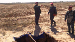 A dead body, rocket, and a drone found in an abandoned hideout in Saladin