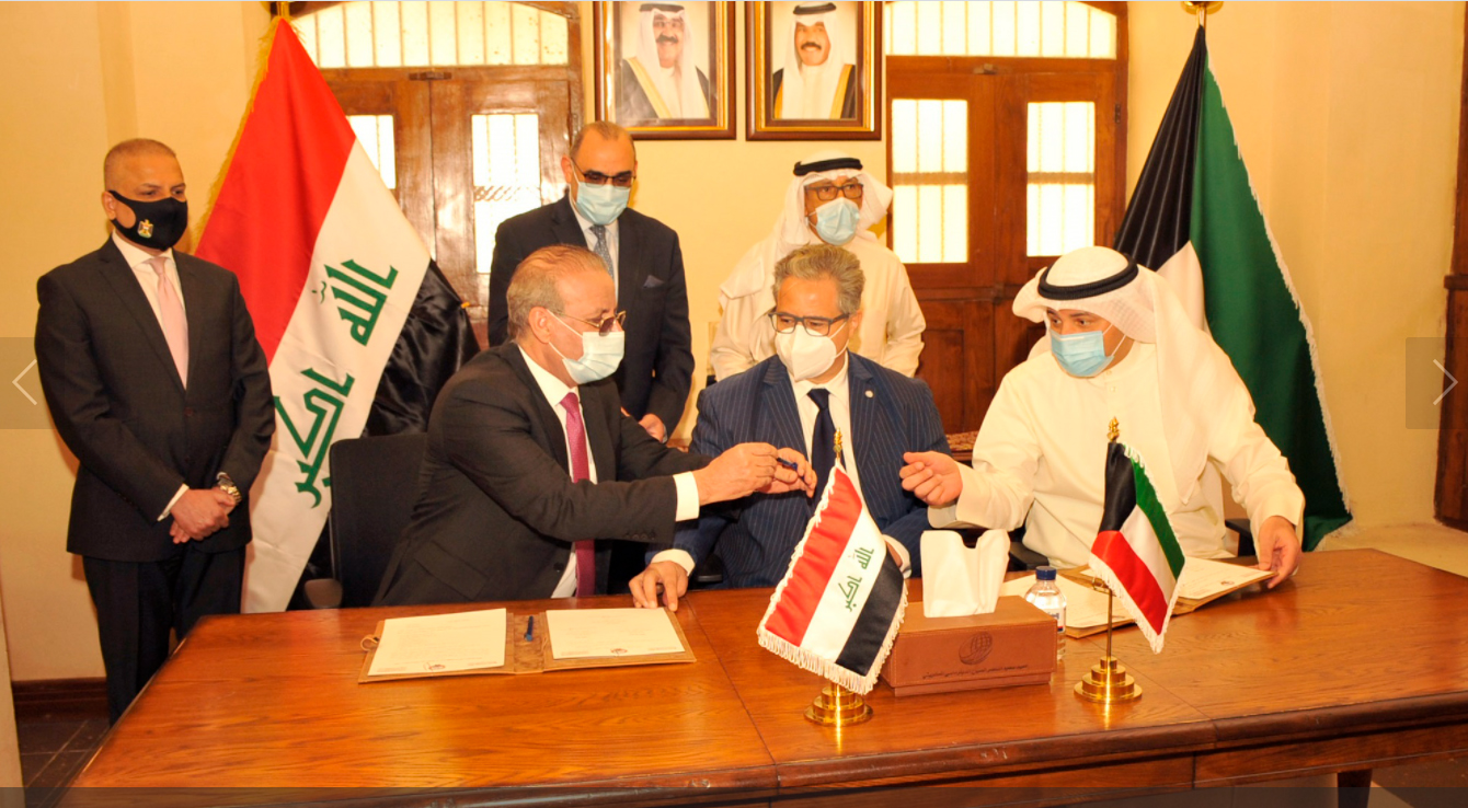 Iraq hands Kuwait the third batch of property and archives during Saddam's invasion 1616939936625